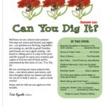 bi-annual garden magazine